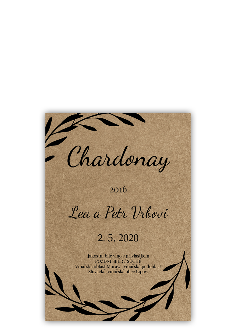Svatební etiketa - Craft
