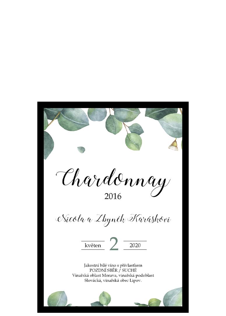 Svatební etiketa - Eukalyptus