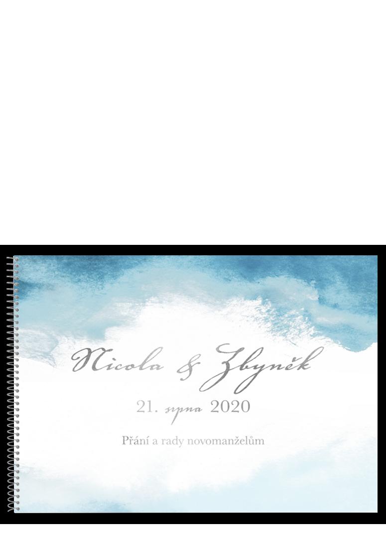 Svatební kniha - Aquarelle