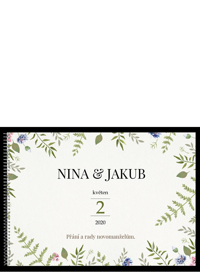Svatební kniha - Herbal