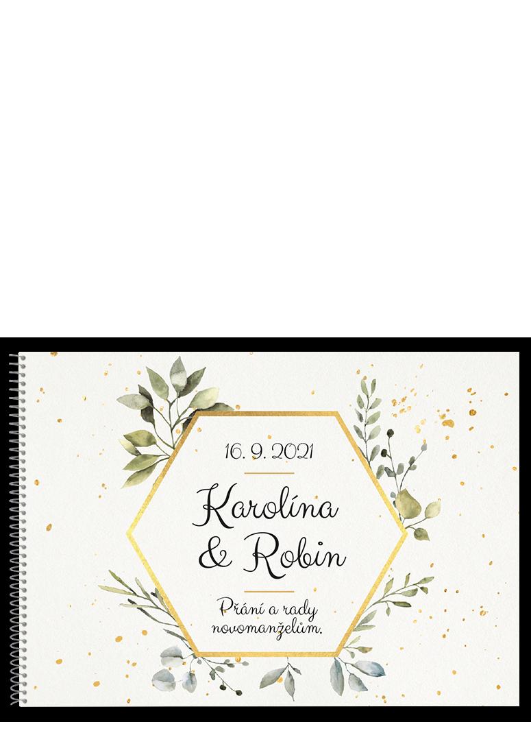Svatební kniha - Hexagon