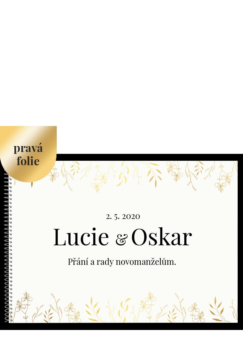 Svatební kniha - Leaves