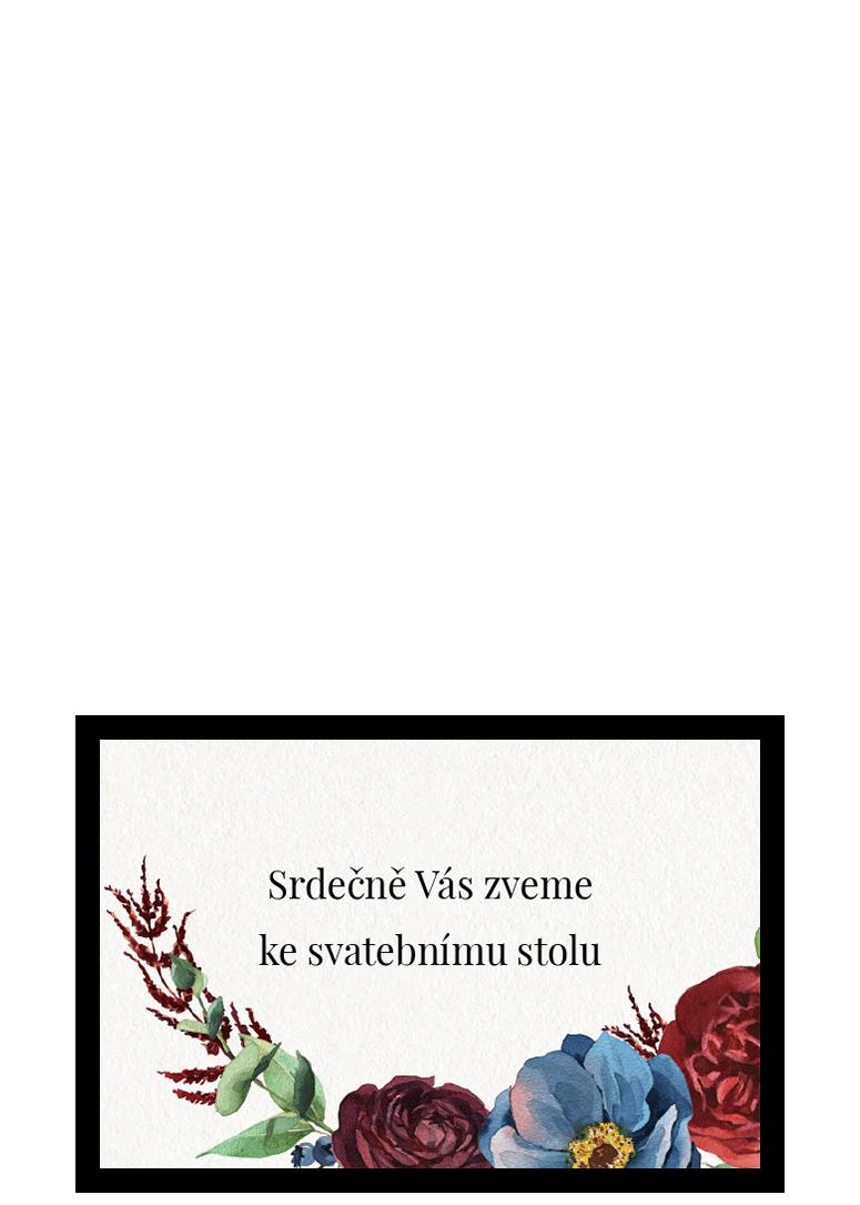 Pozvánka - Burgundy
