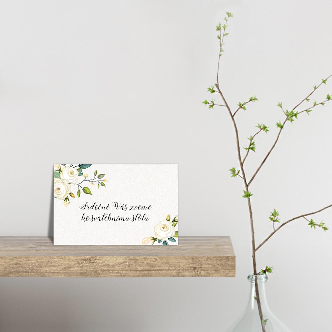 Pozvánka ke stolu - Floral 2