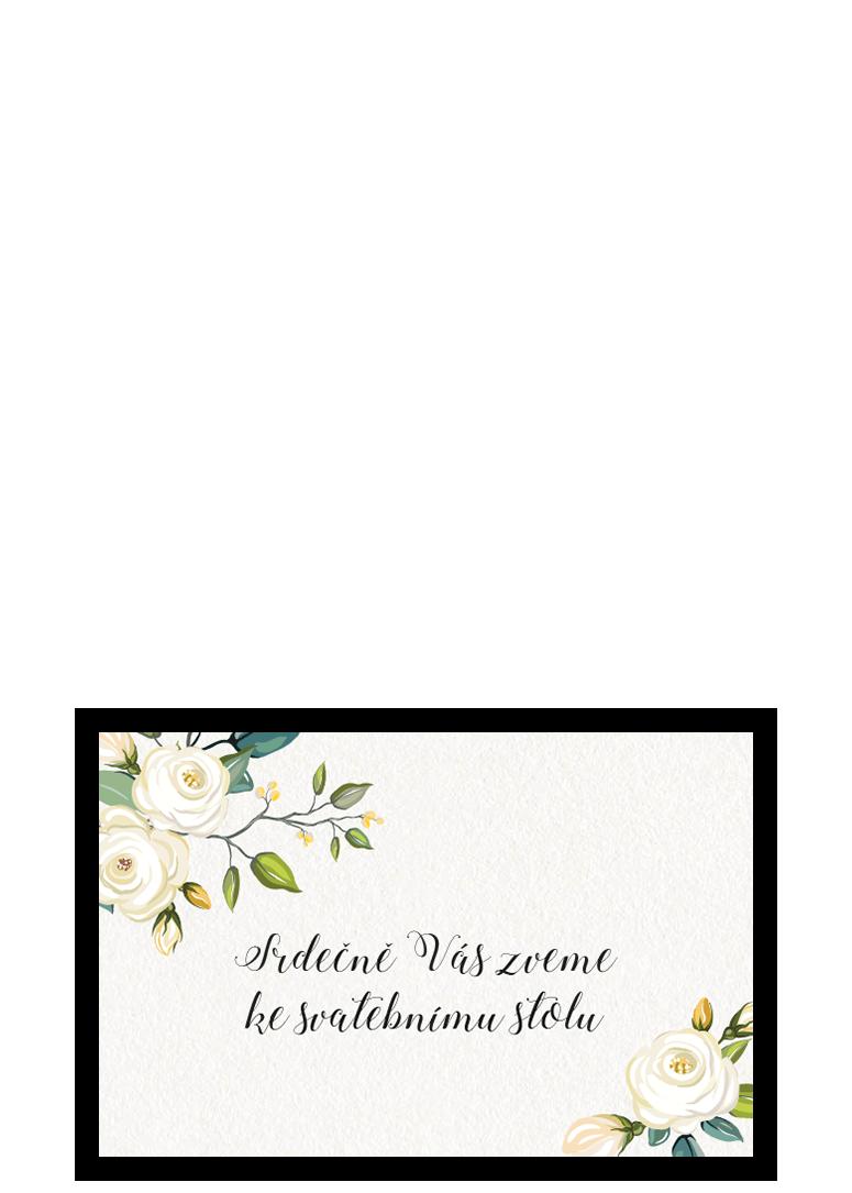 Pozvánka ke stolu - Floral