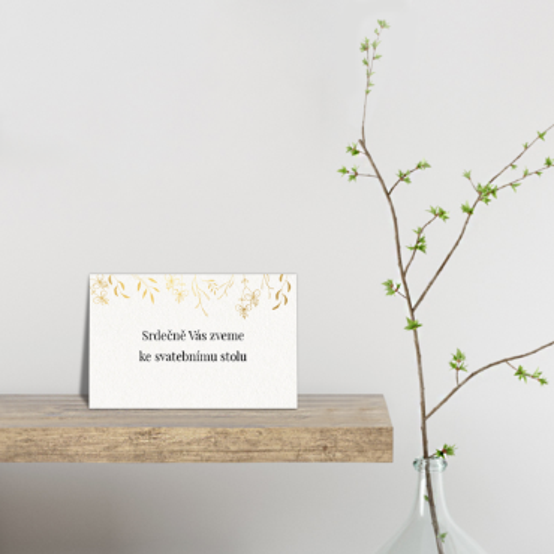 Pozvánka ke stolu - Leaves 2