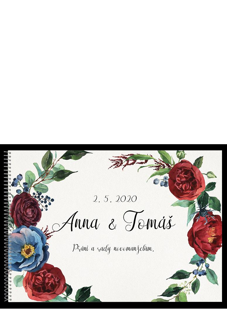Kniha - Burgundy