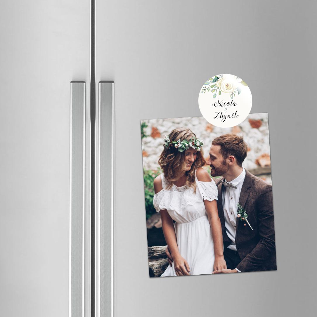 Svatební magnetka