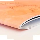 fotokniha šitá sponou hřbet desek